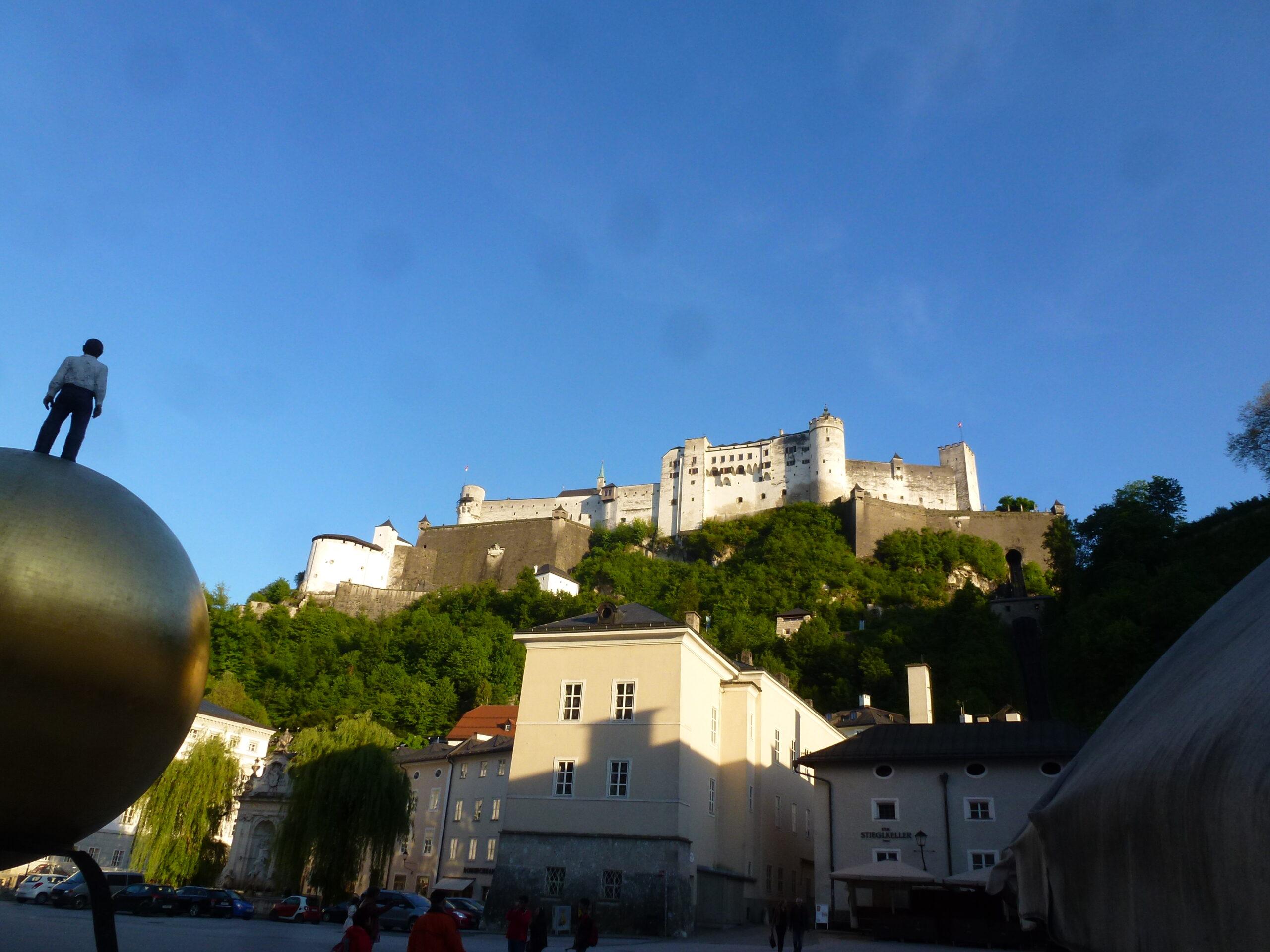 Frohes Sein! Emanuel one von Salzburg Bild Foto pic art von E.A.H.